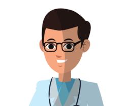 Ein Arzt