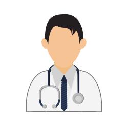 Arzt mit einer Krawatte