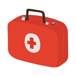 Ein roter Arztkoffer für chronische Wunden