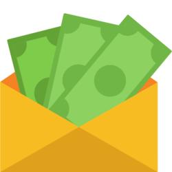 Wissen: Grüne Scheine in einem gelben Umschlag