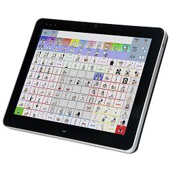 Wissen: Bildschirm mit angezeigter Symboltafel