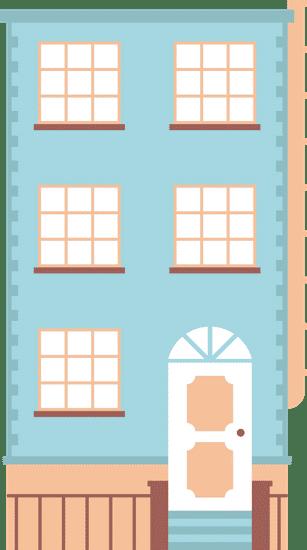 Mehrstöckiges Haus