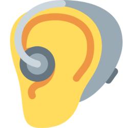 Wissen: Ohr mit Hörgerät