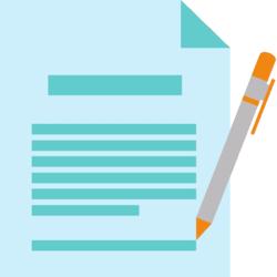 Dokument und Stift