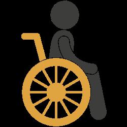 Icon: Rollstuhl